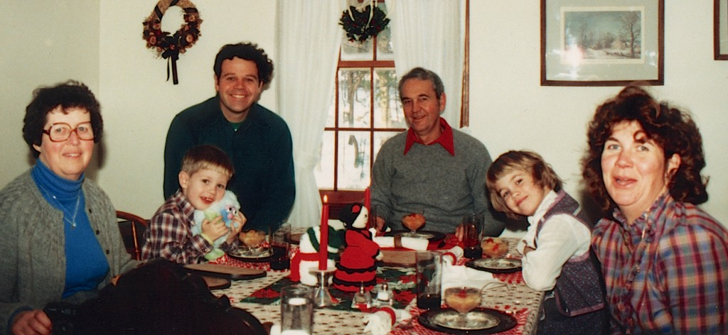 Legg Family Thanksgiving (ca. 1985 in New Hampshire)